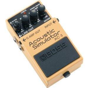 エレキギターでアコギの音を再現するBoss AC-3 Acoustic Simulator